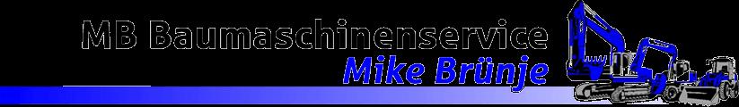 MB Baumaschinenservice - Logo